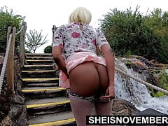 Sheisnovember Young Pussy And Big Ass Общественная вспышка