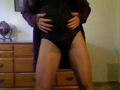 sissy with pantyhose tuck