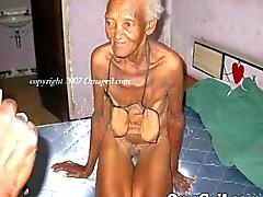 OmaGeil Vieja colección la tercera edad desnuda