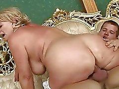 Classy busty grandma gets fucked hard