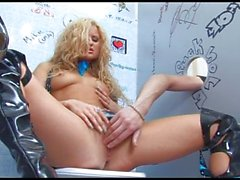 Sex in toilet with cutie russian girl #7