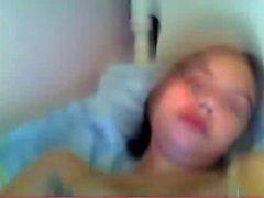 Amateur - Kinky Teen Selfie on Webcam