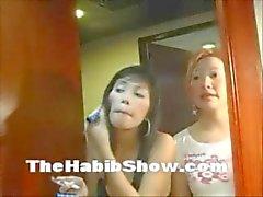 P : Ataya , Thailand Trio neuken deze Aziatische schoffels
