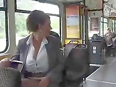 Woman on bus pumping breast milk