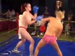 hertha vs barbara topless boxing