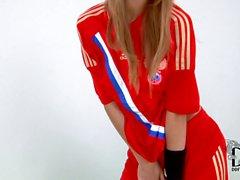 Russian soccer girl Anjelica