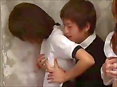 Vackra Japen School Girls suger och knullar efter Bra kvaliteter