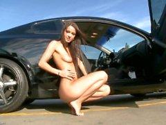 Pussy car doll - Melisa Mendiny