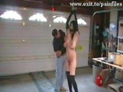 Bizim Slut Cezaevi'nden Cruel BDSM görüntüleri