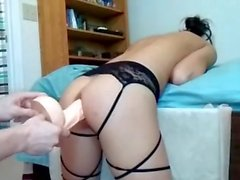 young wife training ass for swinger sex party