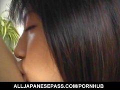 Rina Usui ha fica pelosa anche pompata e ottiene cum bocca