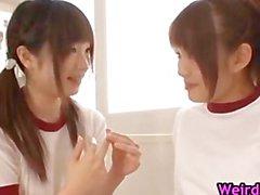 Beautiful harune maeda and megumi shono part1