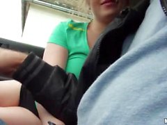 Blonde teen babe pounded by nasty dude