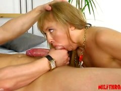 Young girl screaming squirt