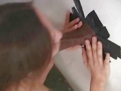 Amber Rayne at a Gloryhole