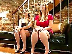 Isis Love Cassandra Calogera and Sierra Skye Bondage Session