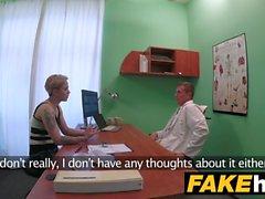 Fake sairaalan tohtori tuo tunne takaisin pillua vittu