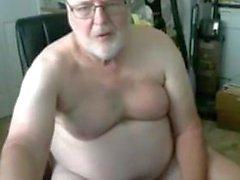 Mostre o vovô pela webcam