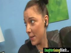 Watch my daughter getting a black monster dick 11