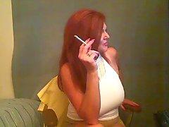 Big Tit Sigara Redhead