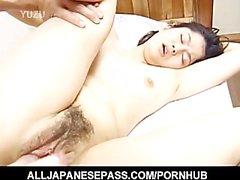 Miku is a horny mature Japanese babe the loves kinky action and pussy pound