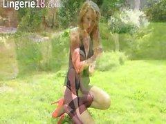 fine outdoor striptease