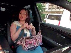 Hot Girl In A Car