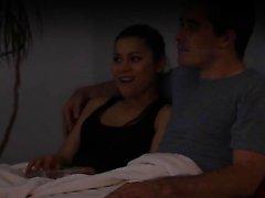 Fucking BF During Movie Night HER SNAPCHAT - WETMAMI19 ADD