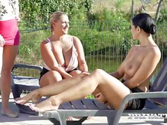 Privatecom Big Boobs Orgy in the Country