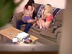 trio amador na cam escondida