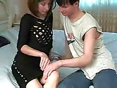Hot French Mum Lets Guy Have His Way