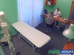 Fake Hospital Doctors bruised bollocks healed by Kazakh
