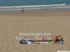 Angel Beach masturbation