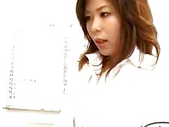 Office Lady Kissing Spitting Getting Her Tits Rubbed In The Office