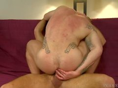 Muscle Hunk Papa Fucks Son ami & JANTES Son Ass 4 A Change