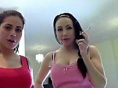 Two Supreme Sexy Goddess Smoke and Humiliate