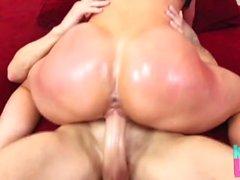 Kendran Lust öljytty Big Cock Fuck
