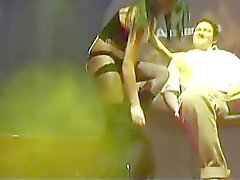 privat Lap Dance on public stage