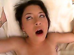 Wet pussy creampie swap