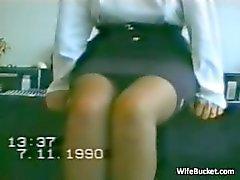 Vintage MILF seksiä