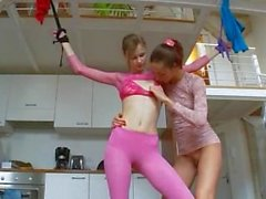 18yo german chicks playing with toys