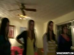 Hot sorority sluts eat out to join up in sorority