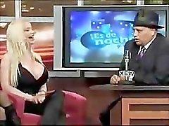 Sabrina Sabrok grootste borsten celeb , hete interviews