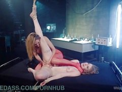 Sexy Submissive Clone Fucked By Narcissistic Lesbian