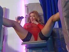 BS Lynda Leigh Black Fishnets And Heels