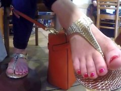 Coffee Shop Sandals (with faceshot)