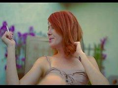 Redhead smoking POV 3