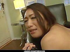 Reiko Kobayakawa onu kremsi kedi şişman dick dayandı