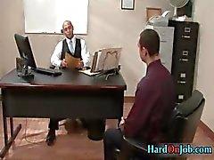 Hardcore jävla och sugande hos jobb part6