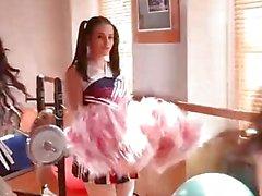 DDF Network-Nekane and Jasmine Webb Fitness fucked in Cheerleader outfits